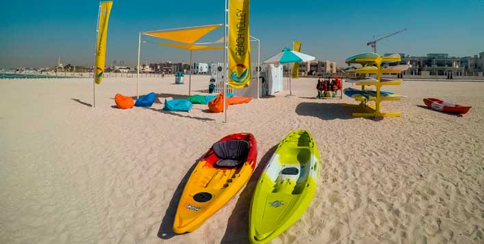 1 Hour rental at Kite beach, Jumeirah