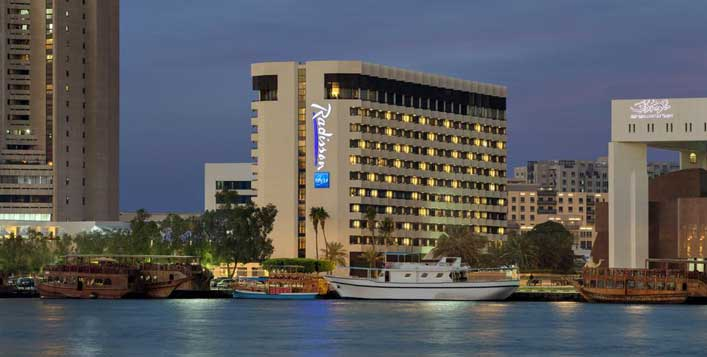 Daily at Radisson Blu Hotel Deira Creek