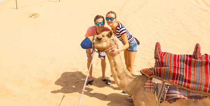 Optional Quad biking and Camel ride