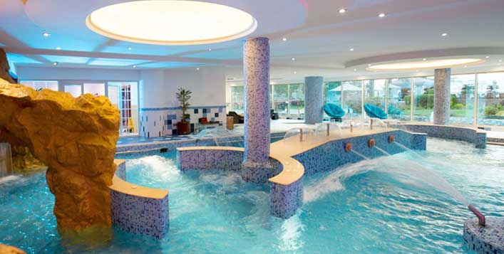 With access to spa facilities