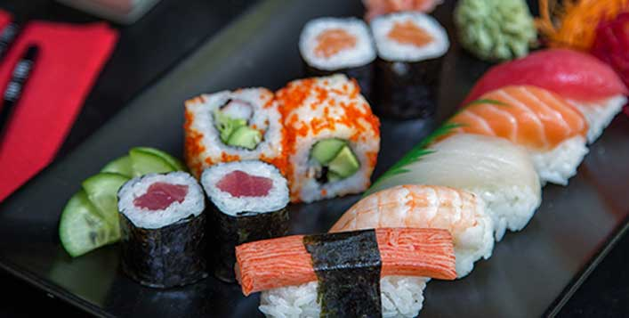 Valid on menu items & Tuesday Unlimited Sushi
