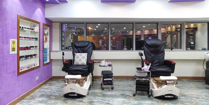 Daily at The Icon Hair Ladies Beauty Salon