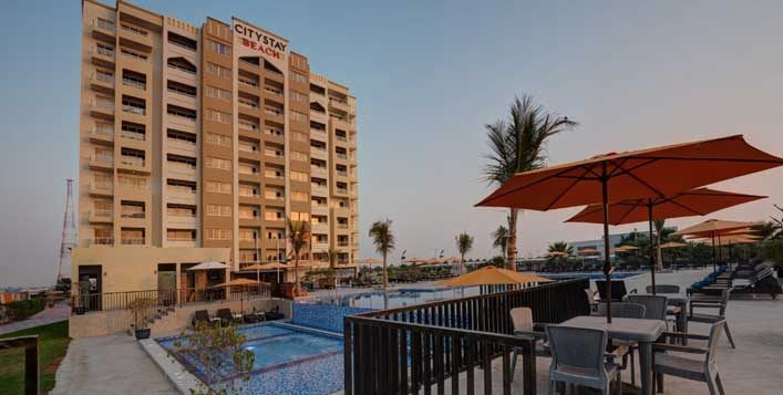 Daily at City Stay Beach Hotel Apartment RAK