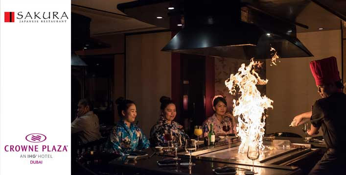 Sushi, Teppanyaki and Izakaya Nights
