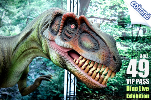 Visit the World's Largest Dinosaur Exhibition