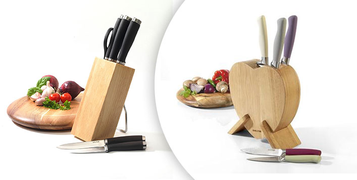 Salter Kitchen Knife Set and Block