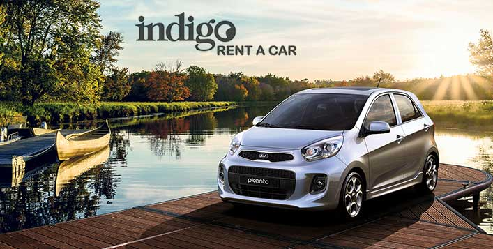 Rent a Kia Picanto from Indigo Rent A Car