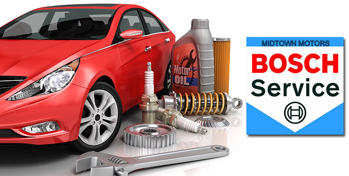 Oil change and servicing package