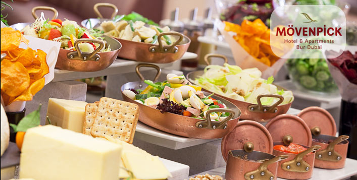 5* Friday Brunch at Mövenpick Hotel Bur Dubai