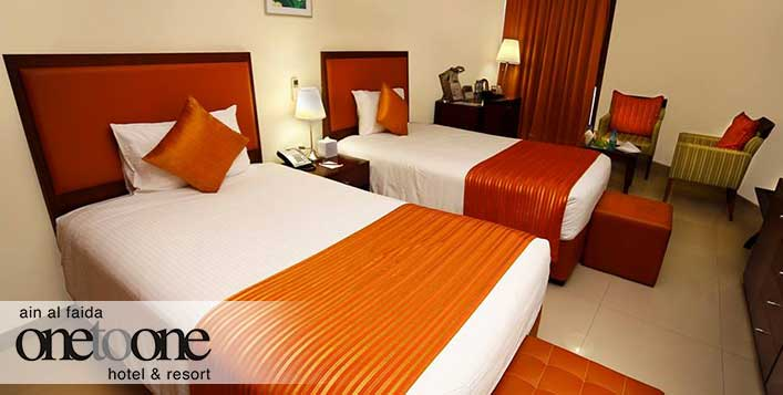 1 Night weekday or weekend stay