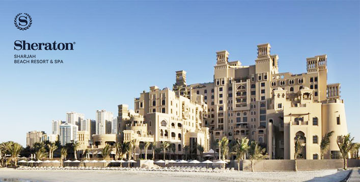 5 Star Sheraton Sharjah Beach Resort Spa