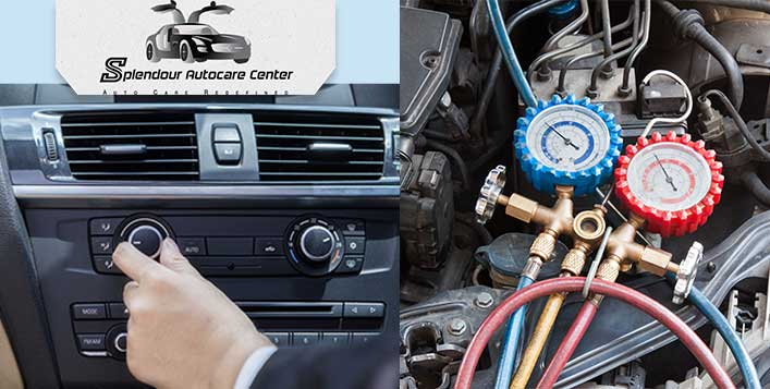 Complete Car Air Conditioner Ac Servicing