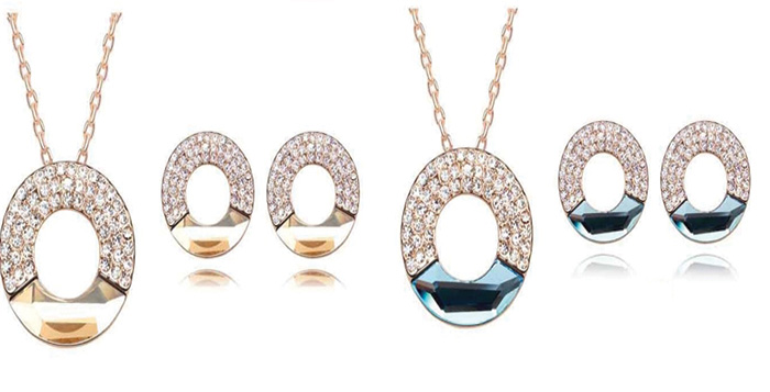 18k Gold and Platinum Plated Jewellery