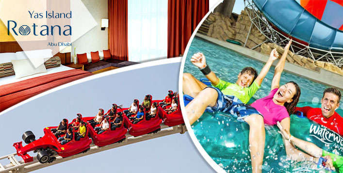 Ferrari World & Yas Waterworld entry passes
